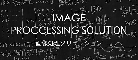 IMAGE PROCCESSING SOLUTION 画像処理ソリューション